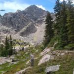 Подход к лагерю после восхождения на пик D
