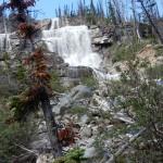 Водопады на левом притоке реки Токумм.16 Водопады на левом притоке реки Токумм.
