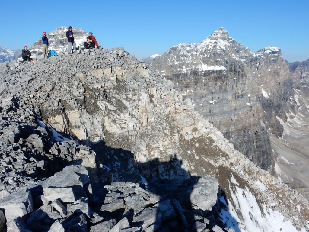 Группа на вершине г. Боулен.