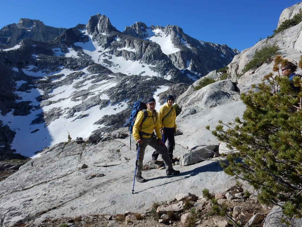 Начало подъёма в сторону горы Хекель. Фото: Фото: А.Б.