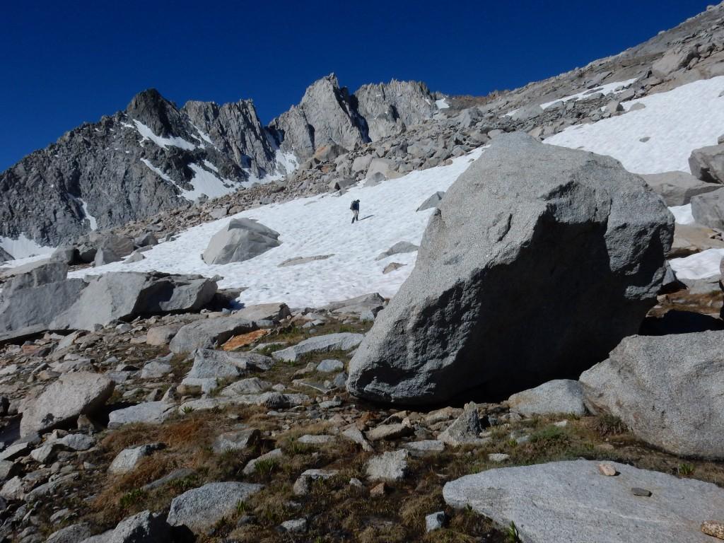 Подход к горе Хекель. Фото: Фото: А.Б.