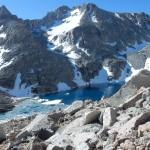 Озеро Эхо (Echo Lake) на пути к горе Хекель. Фото: А.Б.