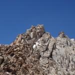 . Кто-то из нас на вершине горы Хекель. Фото: Д.Г.