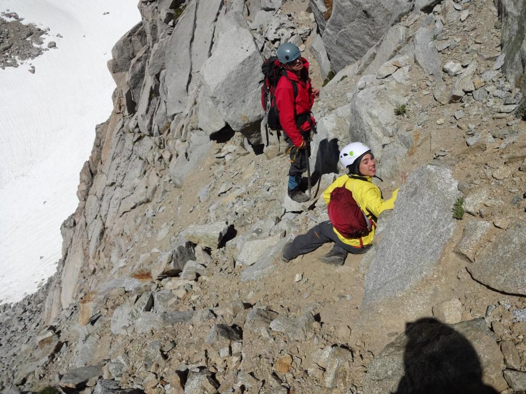 Букреев и Савва во время подъёма на Пикчер Пик. Фото: Д.Г.