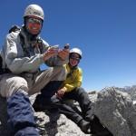 Дима и Савва на вершине Пикчер Пик. Фото: Д.Г.