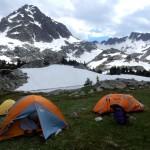 Лагерь 2 на озере Южная Америка.