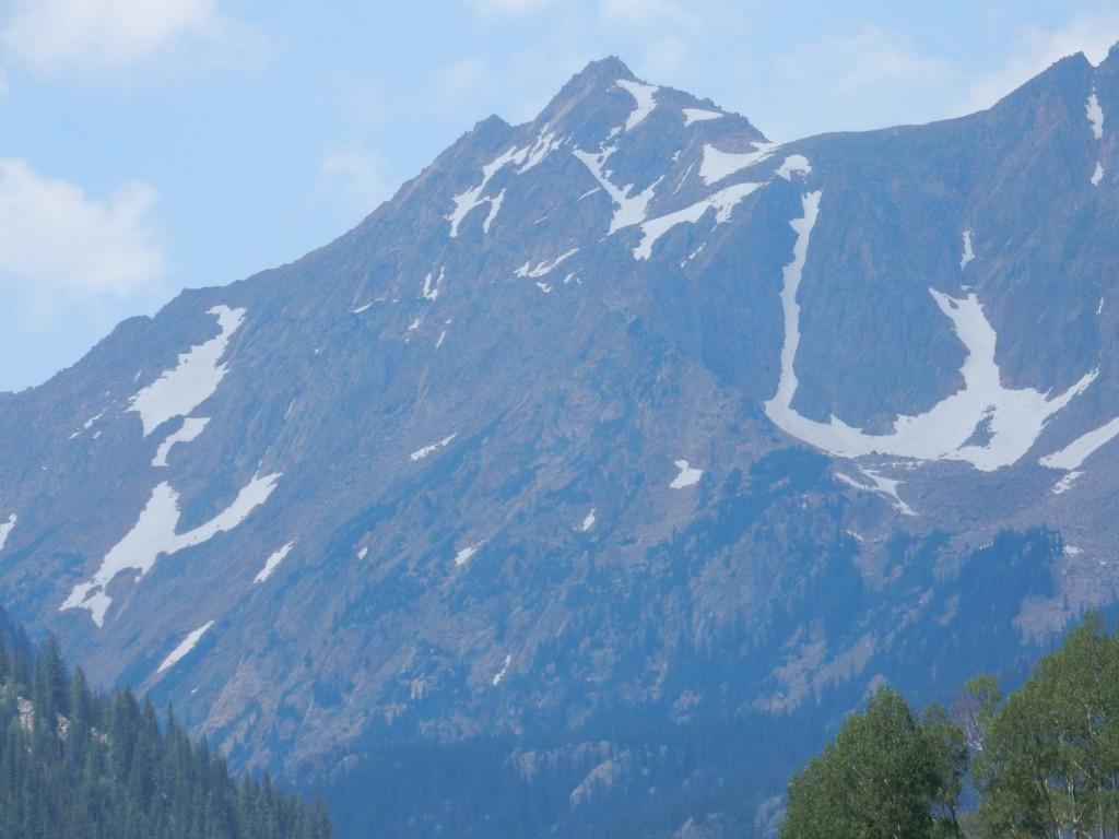 Последний взгляд на горы – пик Л.